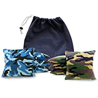 Tailgating Pros Cornhole Bags–8規定サイズCorn穴バッグwith a carrying tote–23+色オプション