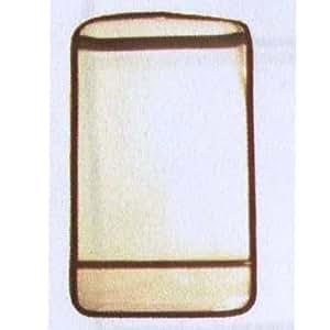 【ランドセルカバー】透明かぶせカバーL(ブラウン)〔RT-1502〕★ランドセルをまもるちゃん★