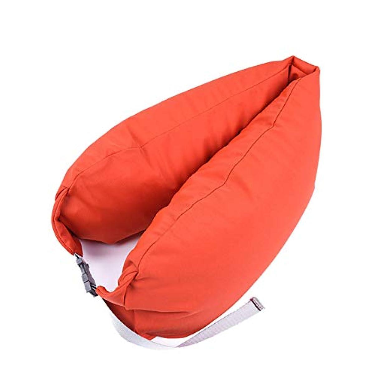 冒険家不一致災害SMART ホームオフィス背もたれ椅子腰椎クッションカーシートネック枕 3D 低反発サポートバックマッサージウエストレスリビング枕 クッション 椅子