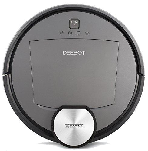 ECOVACS(エコバックス) 床用ロボット掃除機 スマホ連動 レーザースキャン DEEBOT R95 チタンブラック 【日本正規品】