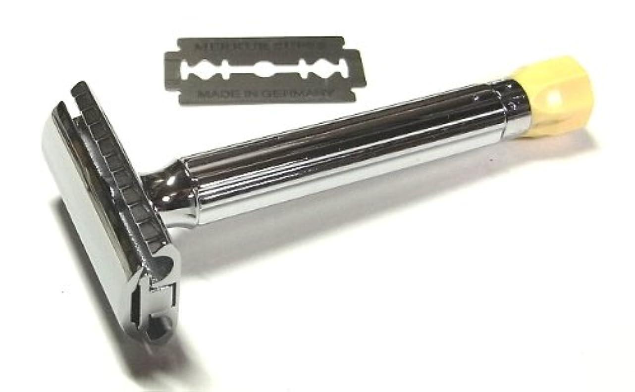 イソギンチャク告白する名誉ゾーリンゲン メルクール 髭剃り(ひげそり)両刃ホルダー510 角度調節機能付 ロング安定グリップ