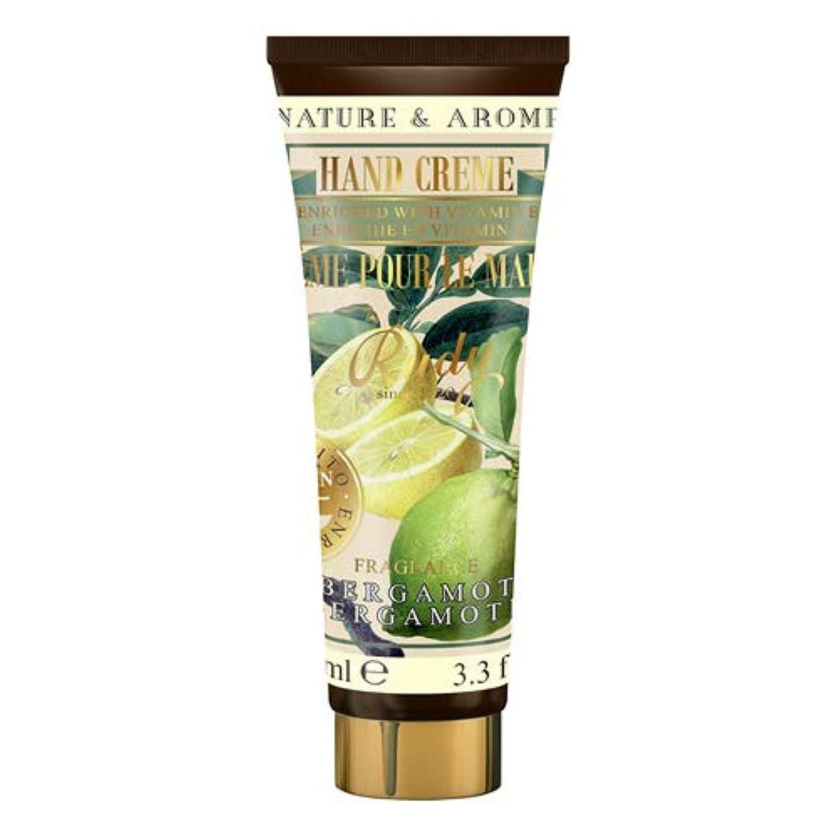 ミリメーター事大陸RUDY Nature&Arome Apothecary ネイチャーアロマ アポセカリー Hand Cream ハンドクリーム Bergamot ベルガモット