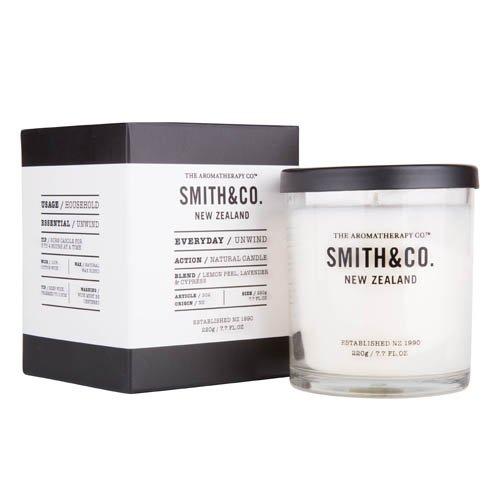 Smith&Co. スミス Candle キャンドル Unwind アンワインド