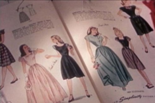 Vintage Fashion & Designer Clothes Films: Retro Clothing, Design Trends & Hair Styles in American Pop Culture