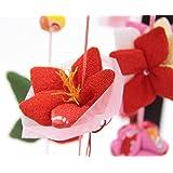 吊るし飾り【12か月の花の蓮】飾り台セット [中] スタンド付き【sb3-12hr-m】