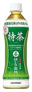 [トクホ] [2CS]サントリー緑茶 伊右衛門特茶 (500ml×24本)×2箱