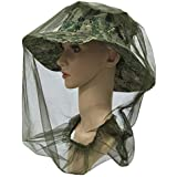 Fly Mosquito Head Net Hat Protector for Farm Fruit Picking Fishing Outdoor Camping Hiking Climbing Walking
