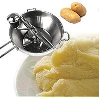 みじん切り器 手動 野菜 果物 離乳食 ベビーフード 簡単水洗い 果物と野菜のジャム ステンレス鋼製 高品質