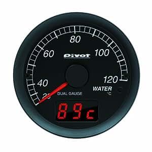 PIVOT ( ピボット ) デュアルゲージ 86&BRZ用 水温計 レッド照明 DXW-R