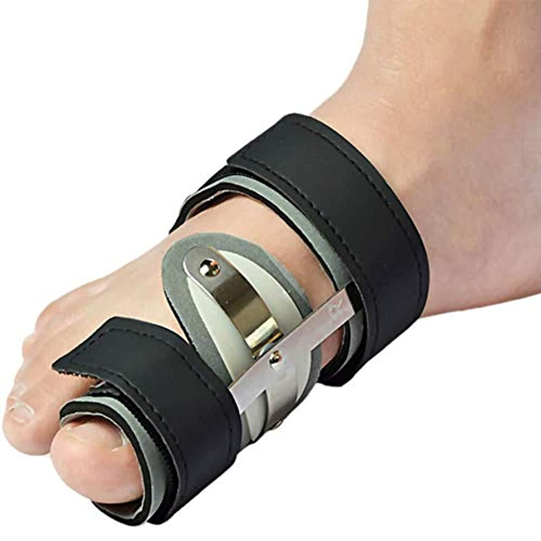 シード取る染料つま先サポート、大きなつま先矯正、快適で ゲルつま先セパレーター、高弾性、腱膜瘤の痛みを軽減,Right Foot