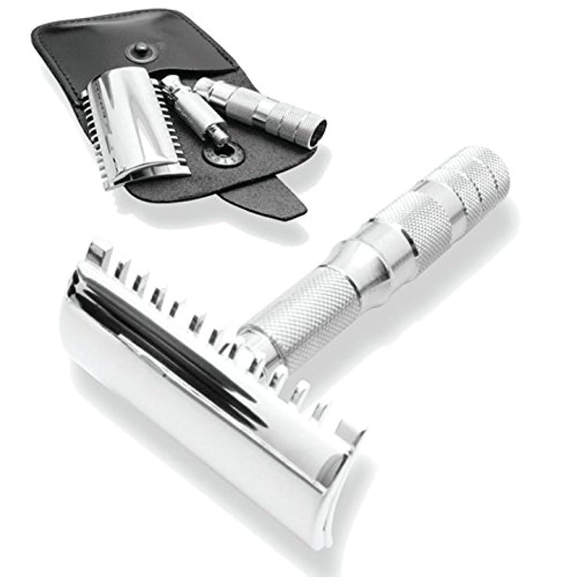 Merkur & Dovo Open Tooth Comb Travel Razor