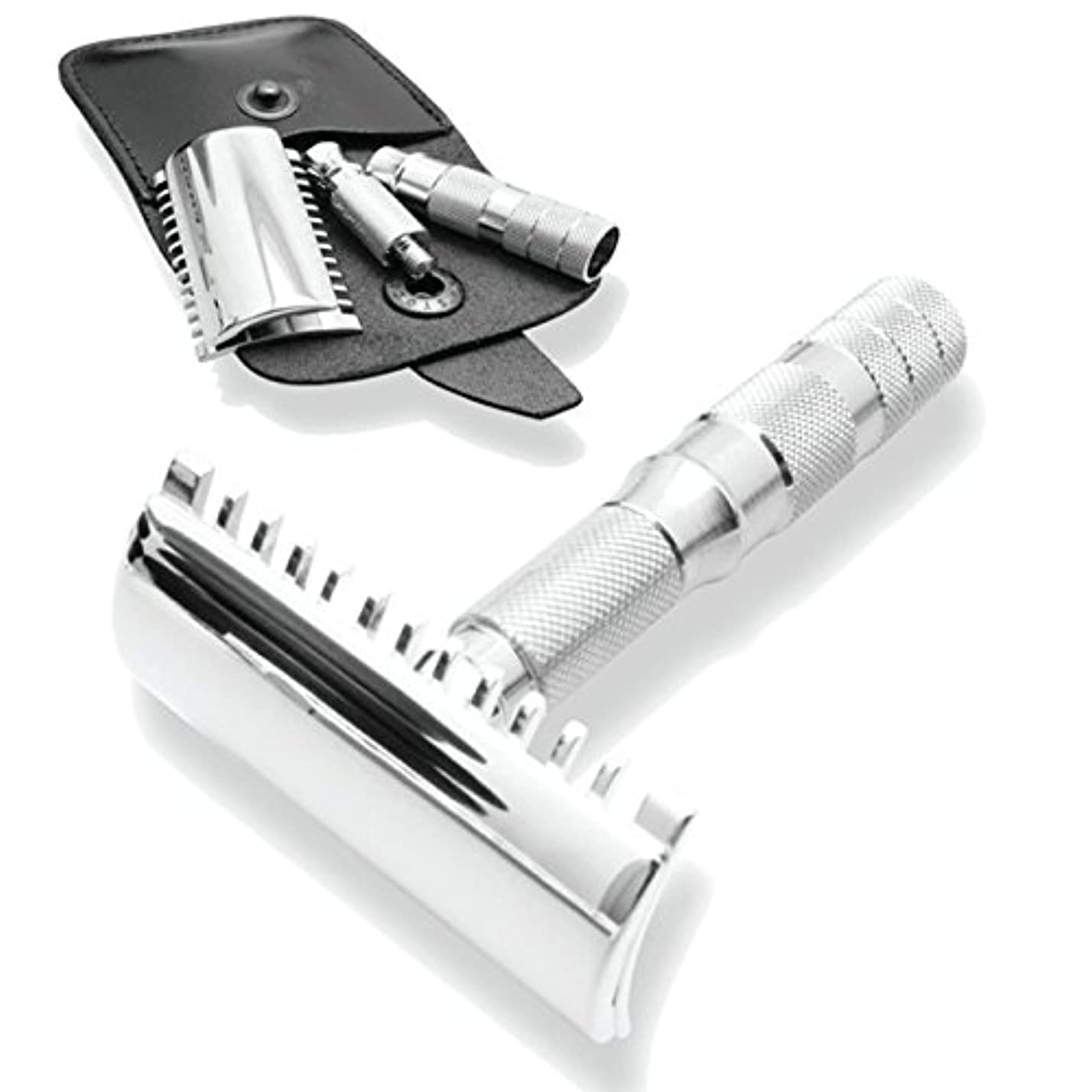 対立そのようなくしゃみMerkur & Dovo Open Tooth Comb Travel Razor