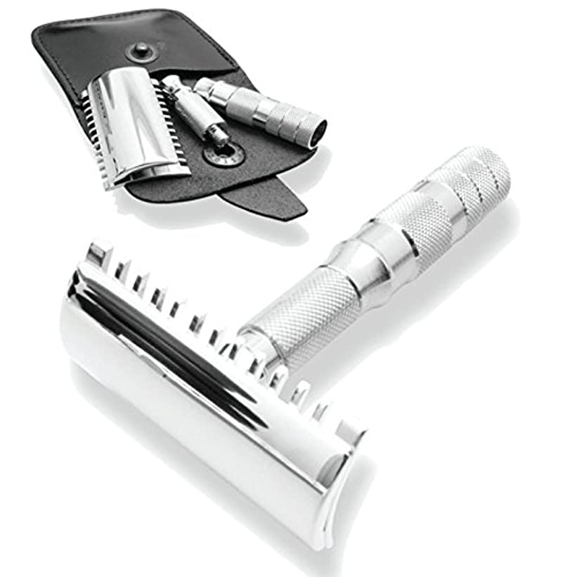 体細胞航空敬意Merkur & Dovo Open Tooth Comb Travel Razor