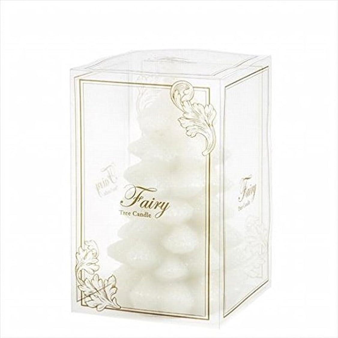 ボウリング手当上院kameyama candle(カメヤマキャンドル) フェアリーツリーM 「 ホワイト 」(A5890010W)