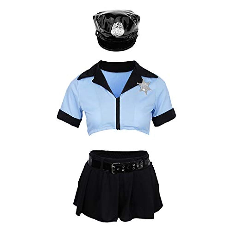 反射ジェーンオースティン伝統的perfk 警察官 婦人警官 セット 可愛い コスプレ 衣装 コスチューム 魅力的