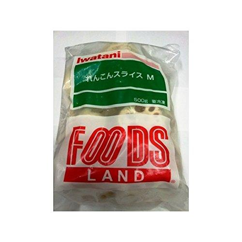 れんこんスライス M 500g 【冷凍】/フーズランド(1袋)