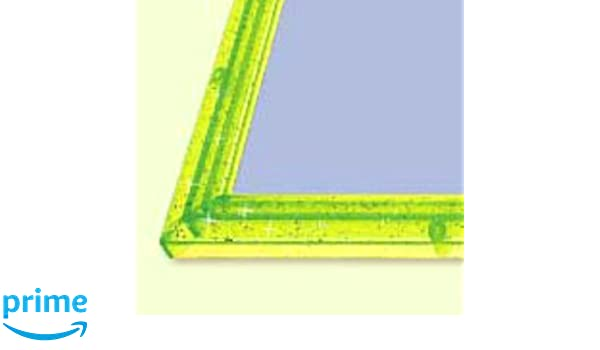 18.2 x 25.7 cm Puzzles & Geduldspiele Puzzle frame Crystal panel Kira Green
