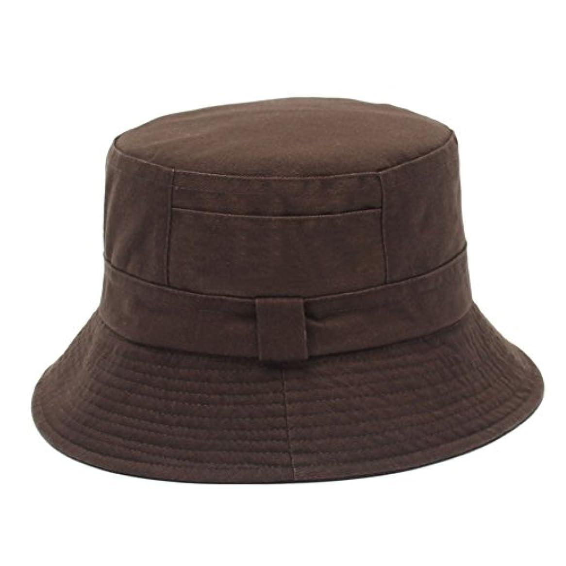 カンガルーファンブル盆地Lalagoバケットハット、ユニセックスWashedコットン夏旅行帽子、釣り帽子、サンハット – Sun保護用