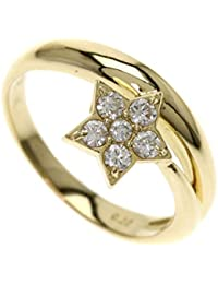 0eebd3f150 [セリーヌ]ダイヤモンド スター リング・指輪 K18イエローゴールド レディース ...