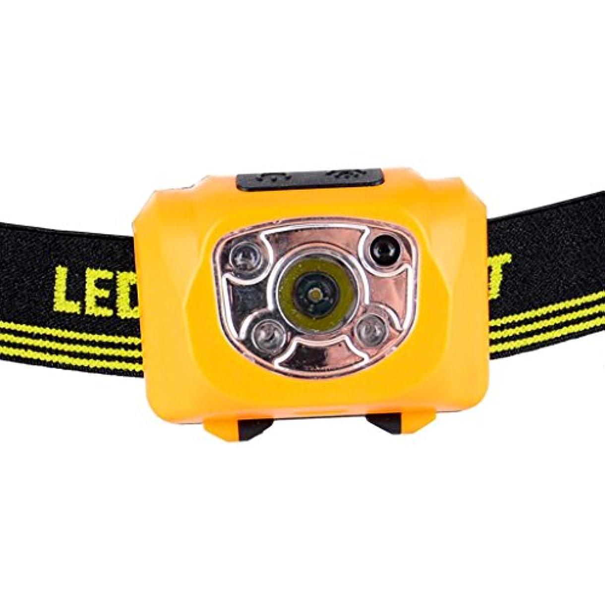 スポット不要昼寝HZOTB USB充電式強力なライトLED防水センサーヘッドライト