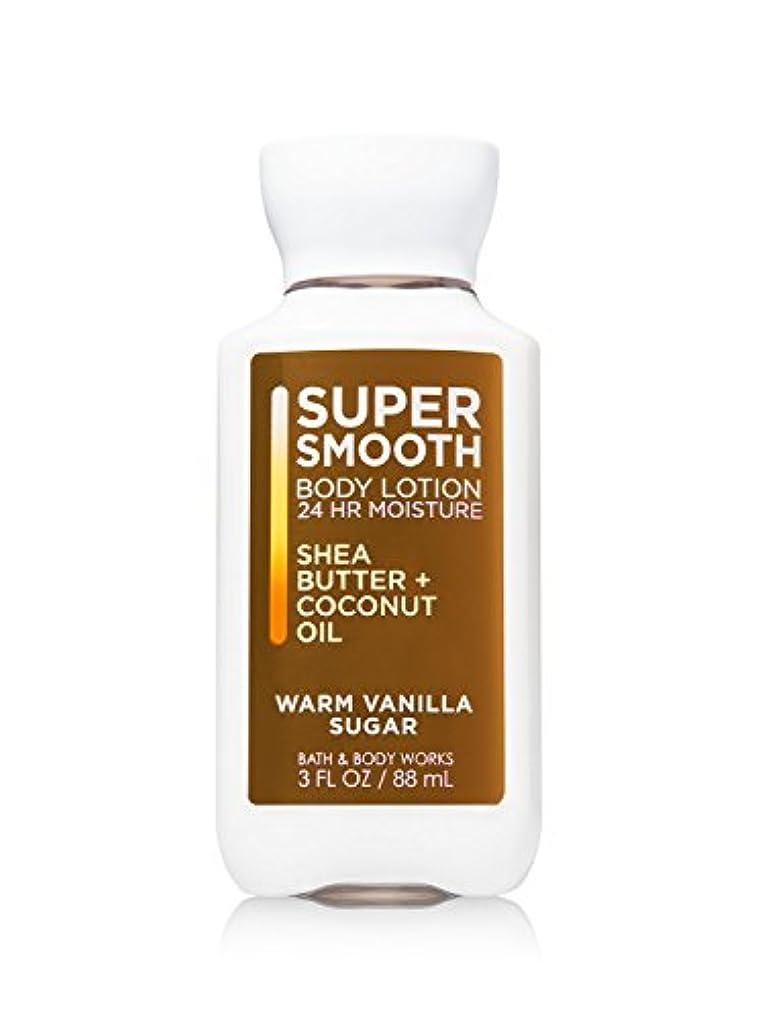 北隠白鳥バス&ボディワークス ウォームバニラシュガー トラベルサイズ ボディローション Warm Vanilla Sugar Travel-Size Body Lotion [並行輸入品]