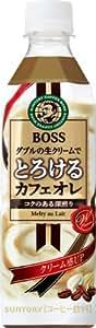 サントリー コーヒー ボス とろけるカフェオレ 500ml×24本