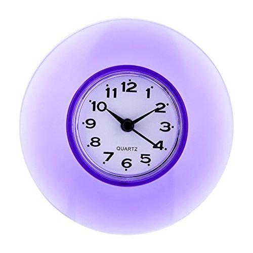 防水時計 シャワー時計 ウォールクロック 壁掛け時計 大画面...