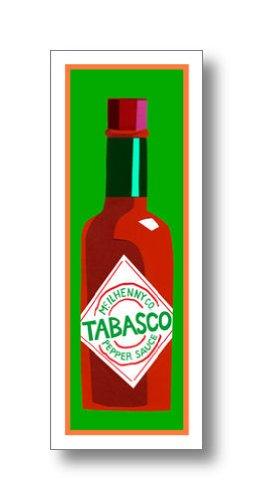 タバスコ アートポスター  Clifford Faust: Tabasco Pepper Sauce