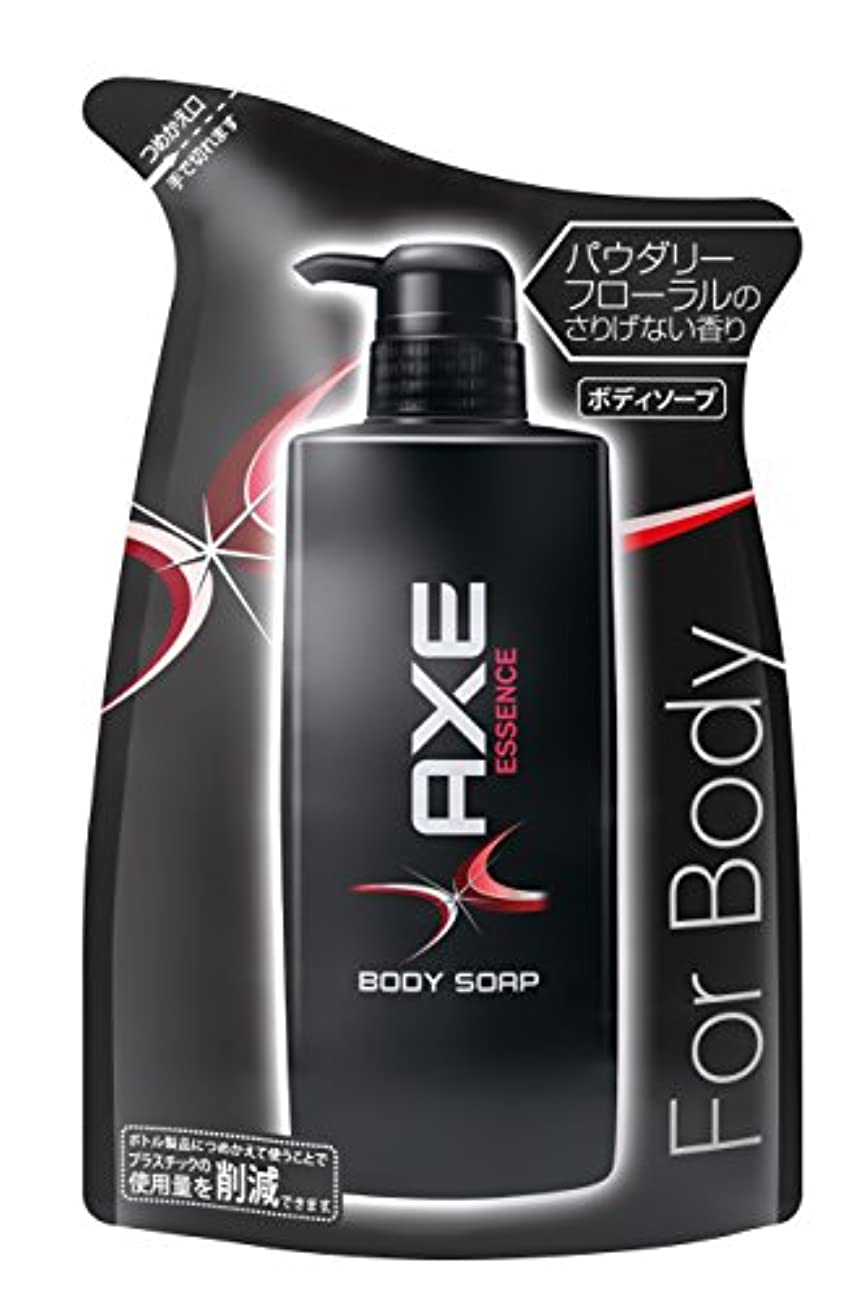 防腐剤甘やかす禁じるアックス(AXE) ボディソープ エッセンス つめかえ用 380g (ほのかに甘いパウダリーフローラルの香り)