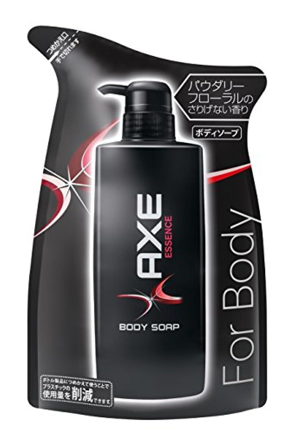 アックス(AXE) ボディソープ エッセンス つめかえ用 380g (ほのかに甘いパウダリーフローラルの香り)
