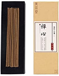 ShanBenTang お香スティック 純粋な天然の手作りお香 甘い香りのオスマンサスの香り プレミアム品質 Zen Incense ブラウン
