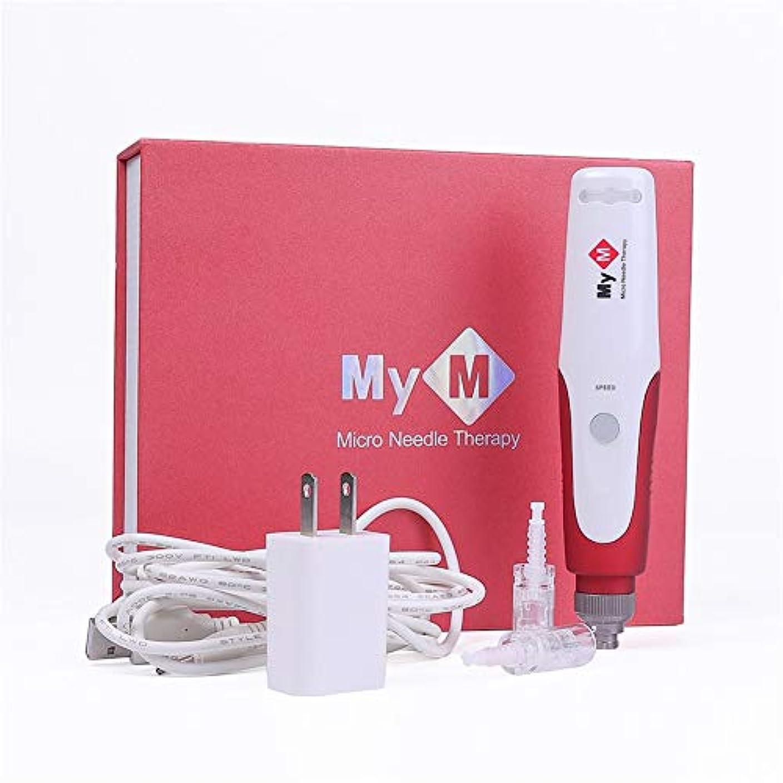 きらめくばかげているハブブ電気マイクロローリングダーマスタンプ治療のための専門のバヨネットDr.penマイクロ針ダーマペンニードルカートリッジ針のヒント