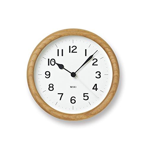 Lemnos MIKI [ケヤキの時計] NY12-06