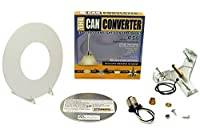 """Recessed Canライト変換キットfor 5」、6"""" Recessed Canライト ホワイト R56-RMF-WHT 1"""