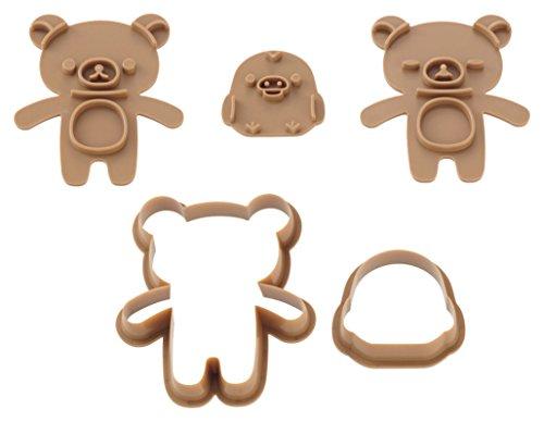 貝印 kai だっこ クッキー型 スタンプで表情が作れる リ...