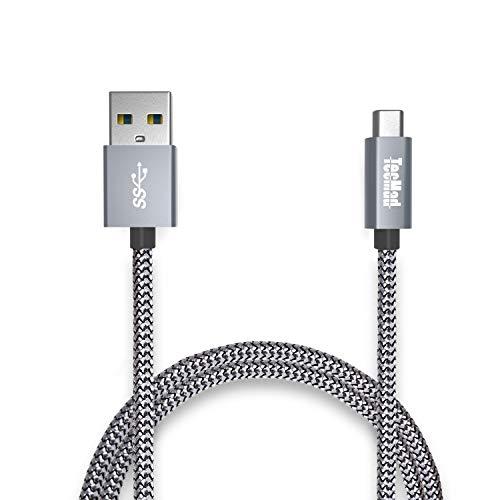 USB Type C ケーブル 【 2m グレー 】TecM...