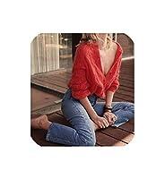 ボタンが付いている極度のシックなジャンパーのカーディガンの秋の女性のセーターの女性のウールのモヘアのジャンパーのセーター、赤、M