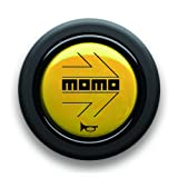 MOMO(モモ) ホーンボタン MOMO YELLOW HB-03