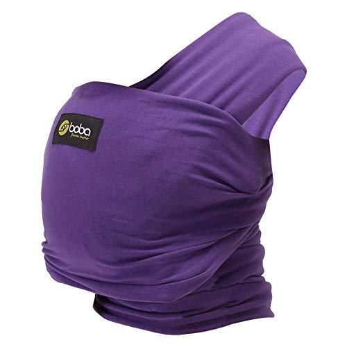 Boba [ ボバ ] Boba Wrap [ ボバ ]ラップ ベビースリング ベビーキャリア 抱っこ紐 Purple パープル [並行輸入品]