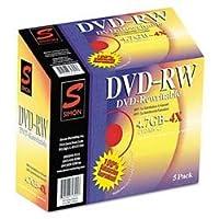 DVD - RW、4x、ジュエルケース( sil72305)カテゴリ: DVDメディア