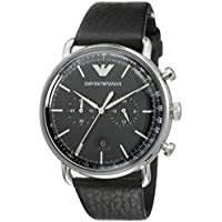 Emporio Armani Men's AR11143 Chronograph Quartz Black Watch