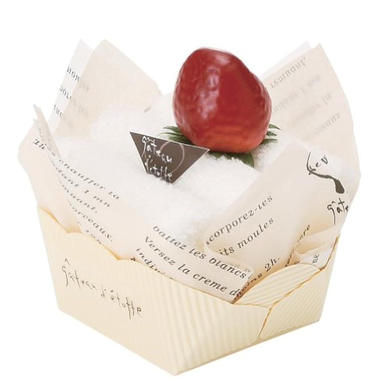 スクラブ見物人太平洋諸島日本ユーテンシル ガトーエトフタオル ショートケーキ イチゴ