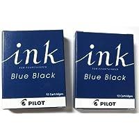 パイロット 万年筆用カートリッジインキ IRF-12S-BB ブルーブラック 2箱
