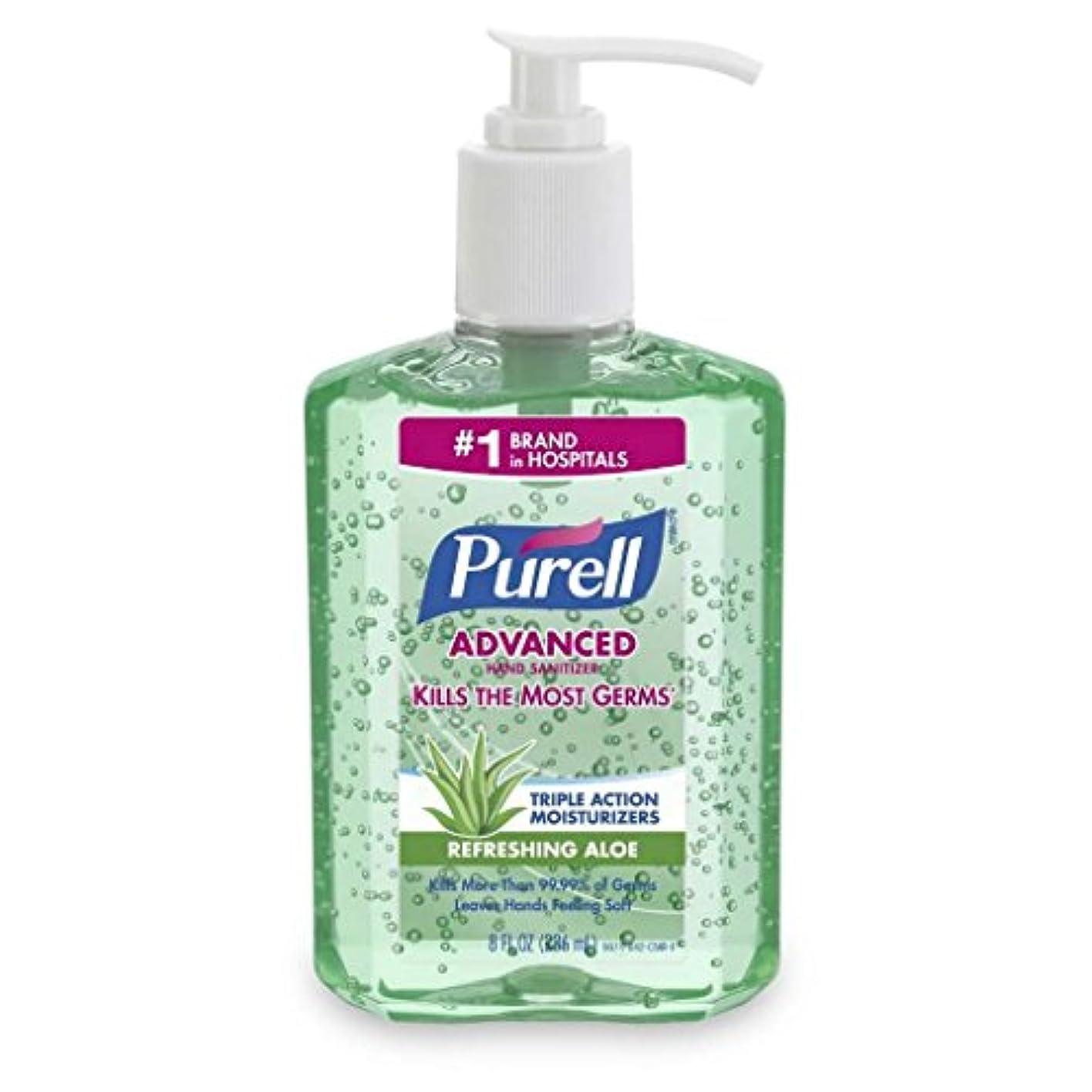 部屋を掃除するページテレビ局Gojo PURELL HAND消毒剤ALOE 8 OZ