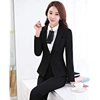 XuBa New Fashion Autumn Winter Professional Formal Pantsuits with Jackets and Pants Office Ladies Blazers Female Trousers Sets