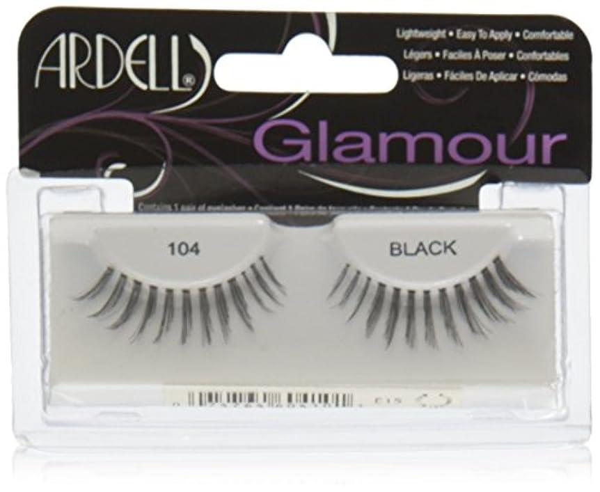 カーフに応じて支払うARDELL False Eyelashes Fashion Lash Black 104 (並行輸入品)