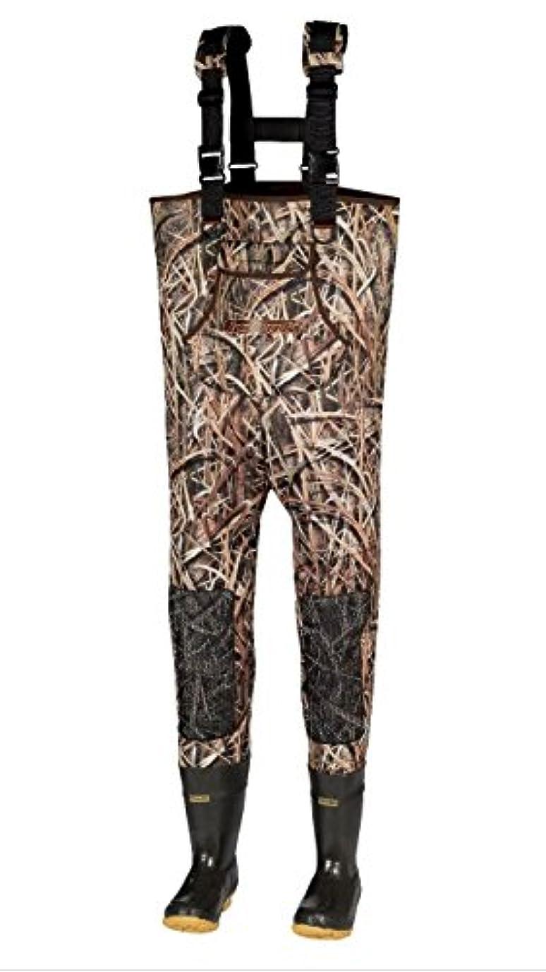 穏やかなマーガレットミッチェル誰がKobuk 5 mm Mossy Oak Shadow Grass Blades迷彩ネオプレンFishing / Hunting Chest Wader Lug Sz 11 1000グラム