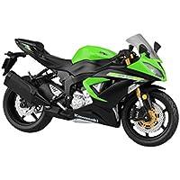 スカイネット 1/12 完成品バイク Kawasaki Ninja ZX-6R 2014 ライムグリーン