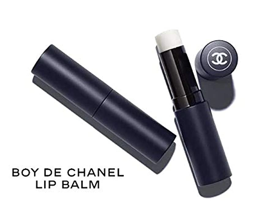 異なる事実上機械的CHANEL 195050 BOY DE CHANEL LIP BALM ボーイ ドゥ シャネル リップ ボーム メンズ メークアップライン リップクリーム 無色 3g ラッピング?ショップバッグ&リボン?メッセージカード付