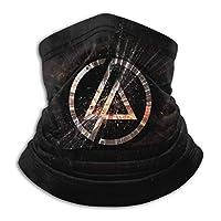 リンキン パーク Linkin Park 秋と冬のフリースネックウォーマー防風熱性能コンフォートフリース&マイクロファイバーリバーシブルネックゲーターチューブ耳ウォーマーヘッドバンドマスク